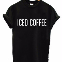 ICED COFFEE Women's Casual T-Shirt