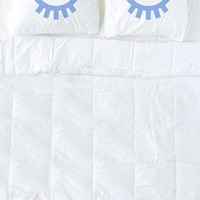 Periwinkle Sleeping Eyes Pillow Cases