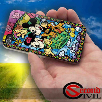 Disney, Mickey Mouse - iPhone 4/4S, 5/5S, 5C - Samsung Galaxy S3, S4 for Rubber and Hard Plastic Case