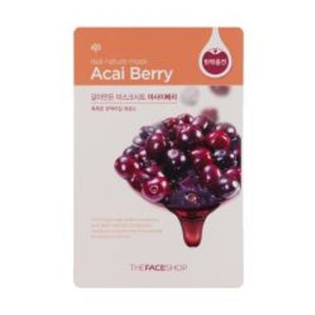 The Face Shop Real Nature Mask - Acai Berry