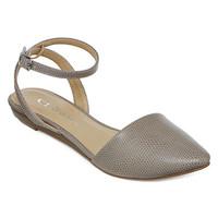 CL By Laundry Screamer Ankle Strap Flats