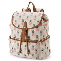 Candie's Pineapple Backpack (Orange)
