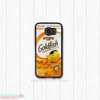 Goldfish, Custom Phone Case for Galaxy S4, S5, S6