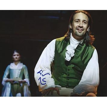Hamilton's Lin Manuel Miranda Photo - Signed