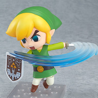 Nenderoid PVC action Figure 10 cm Zelda The Wind Walker Link Model Anime Sword Fighter Fighting Pose