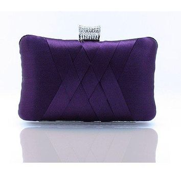 Women Clutch Bags Satin Bride Bag Purse Designer Gentle Evening Bags Party Handbag Wedding Clutch Wallet Shoulder Bag