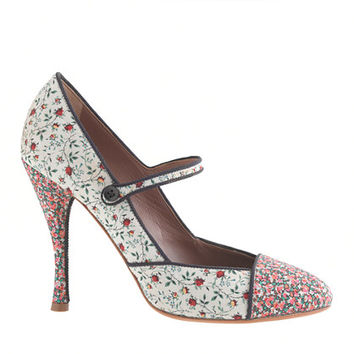 Tabitha Simmons® for J.Crew Folly Rose high-heel Mary Janes