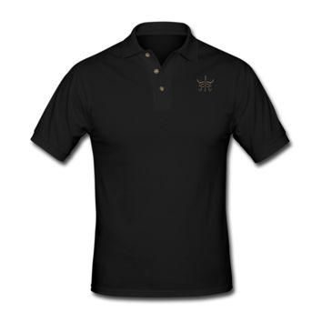 Fake Abs Men's Polo Shirt - Men's Custom Polo Shirts