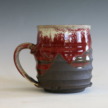 Ceramic Coffee Mug, handmade ceramic cup, handthrown mug, stoneware mug, pottery mug, unique coffee mug, ceramics and pottery