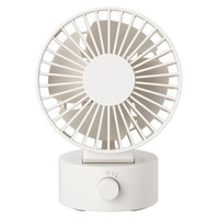 Low Noise USB Desk Fan White