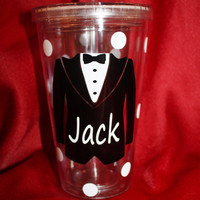 Ring Bearer tumbler. Personalized Cup for the Ring Bearer. Ring Bearer Gift. Wedding Party Gift