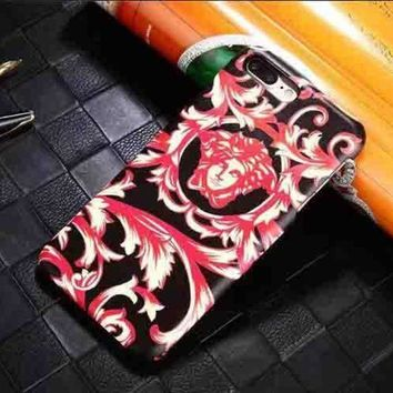 LMFUP0 Versace Fashion Logo Print iPhone Phone Cover Case For iphone 6 6s 6plus 6s-plus 7 7plus4