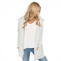 Warming Up Hooded Cardigan