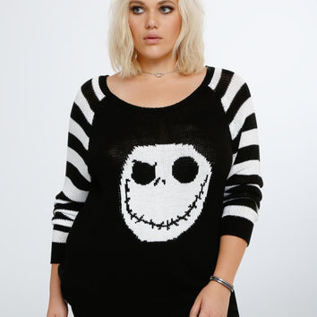 Nightmare Before Christmas Collection Jack Skellington Sweater