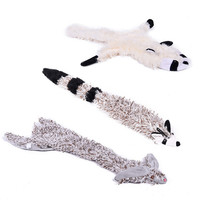 New Cute Pet Toy Sound Toys for Dog Animal Design Squirrel Tiger Toys for Puppy Dog Funny Toys Make Noises Free Shipping