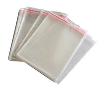 100x New Resealable Clear Plastic Storage Sleeves for regular CD Jewel Cases HC