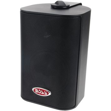 "Boss Audio 4"" Indoor And Outdoor 3-way Speakers (black)"