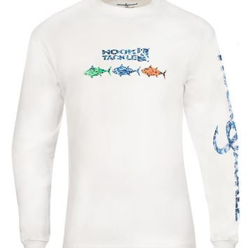 Men's Tuna Camo L/S UV Fishing T-Shirt