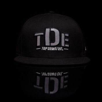 TDE x New Era Fitted Cap - 3M Black