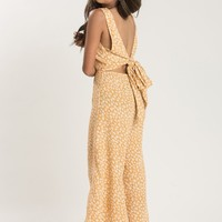 Bailey Yellow Floral Jumpsuit