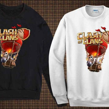 boomber sweater clash of clan sweatshirt fit for you and your children