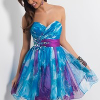 Homecoming dresses by Blush Prom Homecoming Style 9412