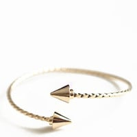 Golden Vector Bracelet - $14.00 : ThreadSence, Women's Indie & Bohemian Clothing, Dresses, & Accessories