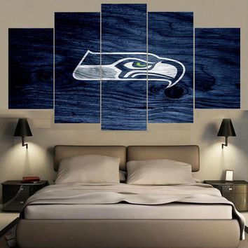Canvas Painting Seattle Seahawks Wall Picture Modern Home Decoration Living Room Or Bedroom Canvas Print Paintings Wall Poster