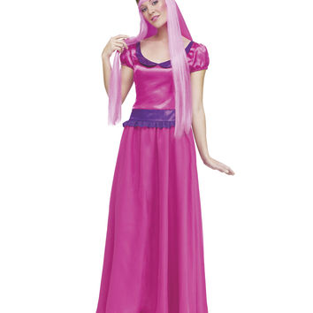 Adventure Time Princess Bubblegum Adult Womens Costume