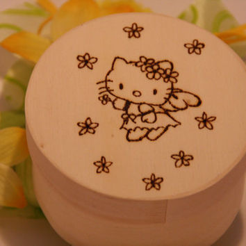 Hello Kitty Jewelry Box by AroundWood on Etsy