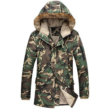 Camouflage Military Cotton-padded Jacket