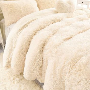 Super Soft Shaggy Faux Fur Blanket Ultra Plush Decorative Blanket 130*160cm/160*200cm /ysl2017-WSY