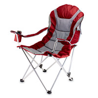 Reclining Camping Chair - Red