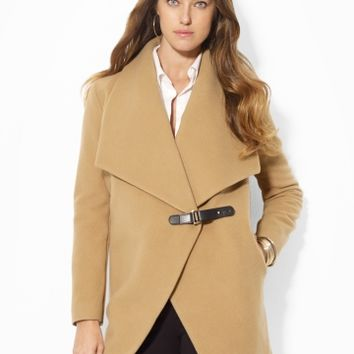 Cashmere-Blend Belted Coat - Outerwear   Women - RalphLauren.com