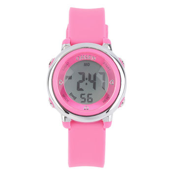 2016 New Fashion Women Girl Silicone Band Digital LED Wrist Watches Sport Watch Casual