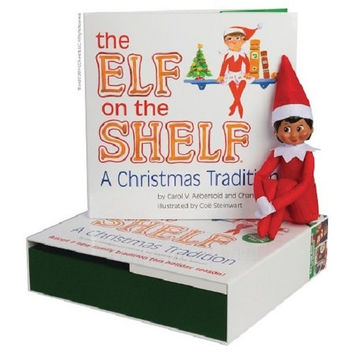 Elf on the Shelf Box Set - Girl - Dark