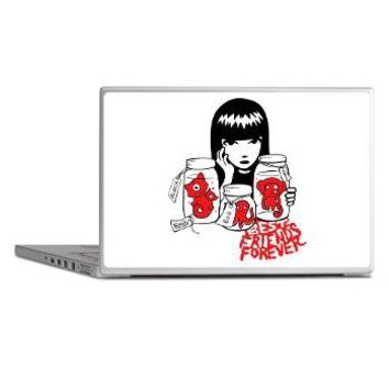 Best Friends Forever Laptop Skins> Best Friends Forever> OFFICIAL Emily the Strange