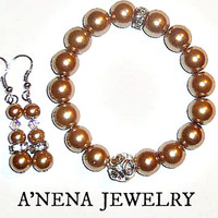 Haute Cocoa  Beauty Glamour Duo! By A'Nena Jewelry