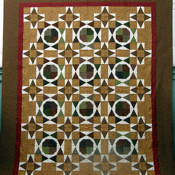 Quilted Throw Pecan Pie