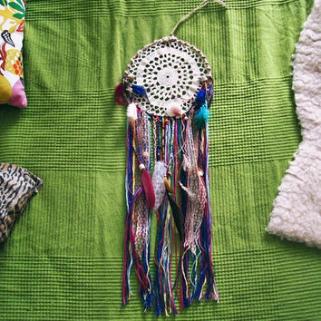 Bohemian Dreamcatcher - Gypsy Style Wall Hanging Dream Catcher - Boho Hippie Bedroom Decor - Bohemian Home Decor - Made To Order