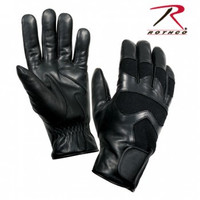 Cold Weather Leather Shooting Gloves