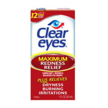 Clear Eyes Maximum Redness Relief Eye Drops - CVS.com