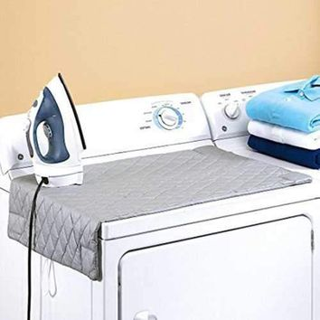 48*85cm Ironing Board Folding Ironing Pads Mat Roupa Cover