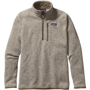 Buy Men's Better Sweater Quarter Zip from Patagonia @ Rocky Mountain Trail