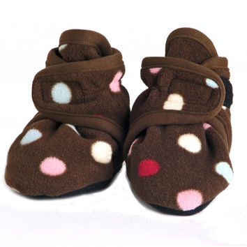 Fleece Baby Booties Smarties