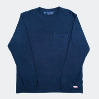 L/S Pocket Tee, Navy