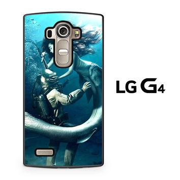 Diver and The Mermaid LG G4 Case
