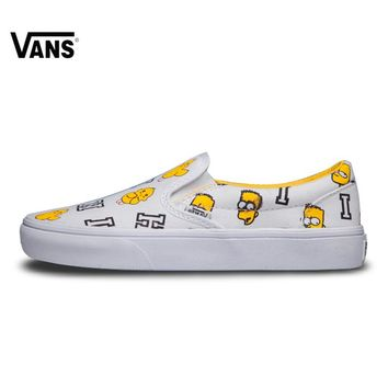 VANS Leather stitching Low Top Skateboarding Shoes Sports Shoes Canvas Sneakers for men VN0A2Z5IWSX 40-44