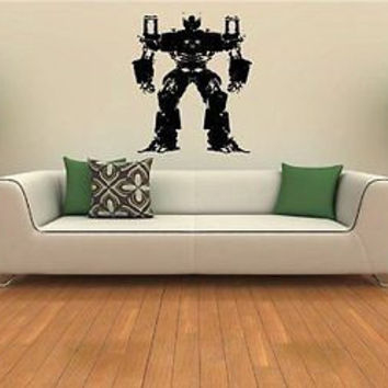 Transformers Wall MURAL Vinyl Sticker Kids ROOM S. 627