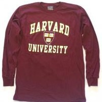 Harvard Long-Sleeve T-Shirt (Shield) | Harvard Book Store